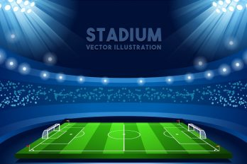 De Europese voetbalstadions