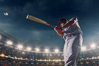 Magisch honkbal tijdens de finale van de World Series
