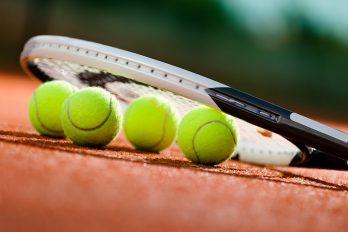 Trotse finalisten van het ATP-toernooi te Wenen
