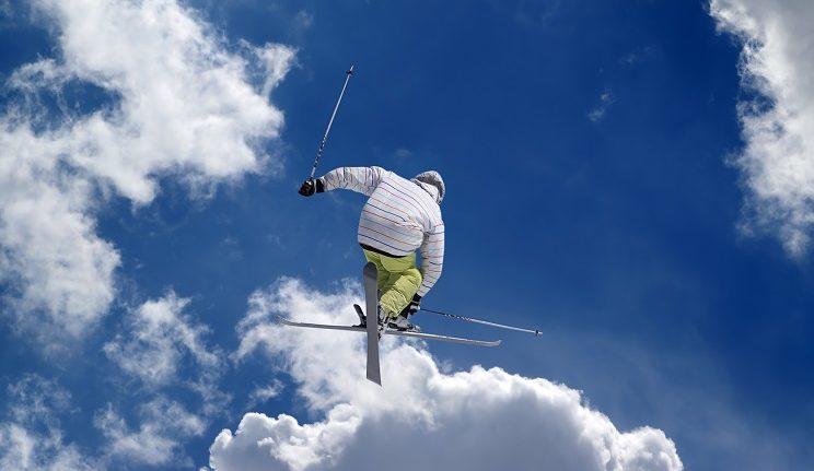 acrobatisch skiën