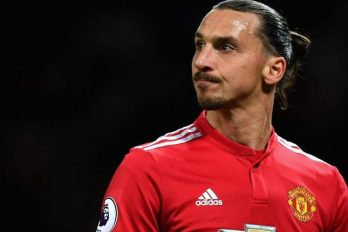 Zlatan Ibrahimovic speelt niet op WK