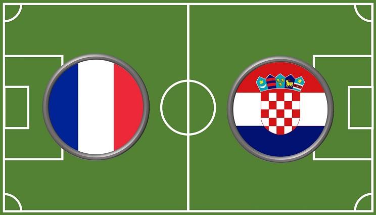 Kroatië finale WK 2018