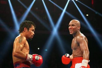 Deal Manny Paquiao en Floyd Meayweather bijna rond