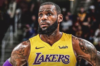 LeBron James speelt voor de Lakers en wint