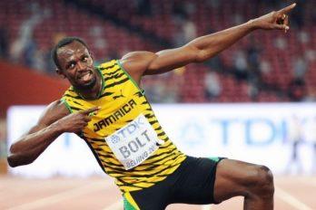 Einde aan droom van Usain Bolt