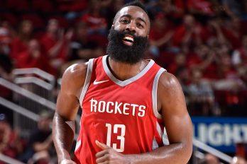 Rockets winnen met Harden